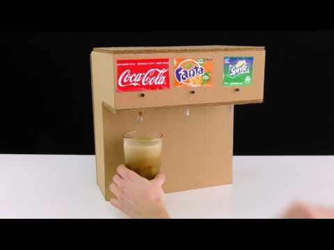 Video HEBAT! Cara membuat mesin minuman seperti di KFC sendiri