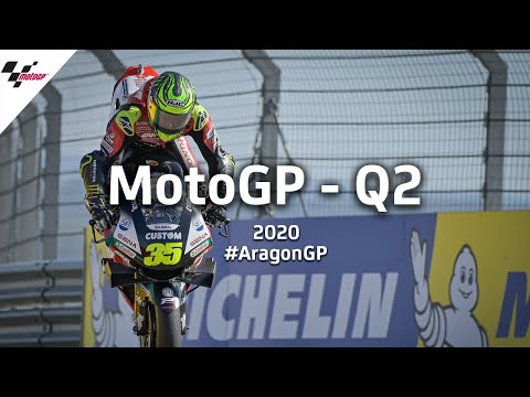 ファビオがポールポジションを獲得!MotoGP アラゴンGP 予選Q2のハイライト動画