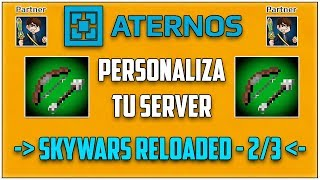 Tutorial Server Pro: SkyWars   Como poner skywars en tu server