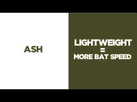 Rawlings Adirondack Ash Wood Youth Baseball Bat: Y242G