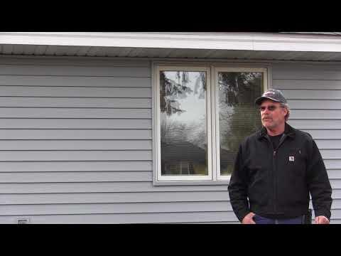 Blaine, Minnesota, homeowner Wayne Morton praises Trinity Exteriors' customer service, professionalism and...