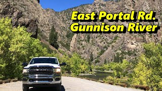 East Portal Road in Black Canyon of the Gunnison N.P.