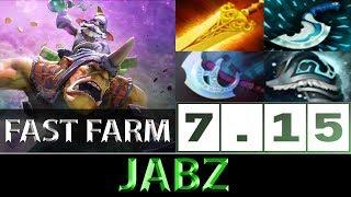 Jabz [Alchemist] Fast Farm Bounty Rune Patch ► Dota 2 7.15