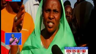 Traders in Isiolo counting losses after night inferno burnt down the entire market
