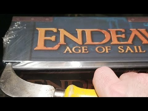 Instructional & Unboxing of Endeavour Age of Sail