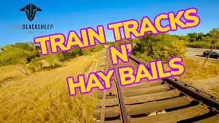 TRAIN TRACKS N' HAY BAILS | TBS CROSSFIRE MICRO TX V2 | CINEMATIC FREESTYLE FPV