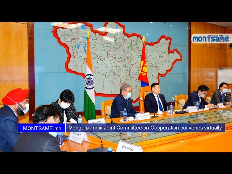 Mongolia-India Joint Committee on Cooperation convenes virtually