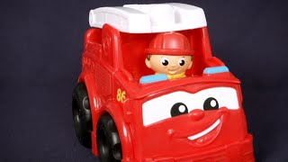 First Builders Fisher-Price Firetruck Freddy from MEGA Bloks