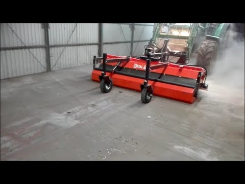 Metal-Technik Kehrmaschine Kehrbürste 1800 mm Traktor Frontlader Stapler