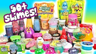 MIXING ALL MY STORE BOUGHT SLIME! 50+ MASSIVE SLIME SMOOTHIE! Doctor Squish