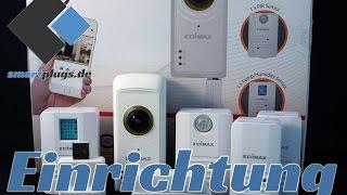 [EINRICHTUNG] Smart Home Starterpaket IC-5170SC von Edimax