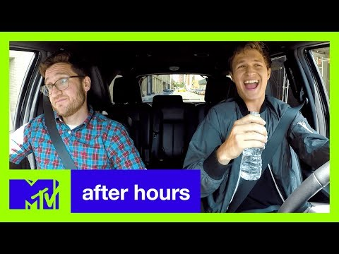 Baby Driver's Ansel Elgort Plays Carpool Kara--Oh God!  | After Hours | MTV