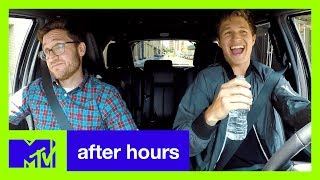 Baby Drivers Ansel Elgort Plays Carpool Kara--Oh God!  | After Hours | MTV