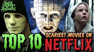 Top 10 Best Horror Movies on Netflix!