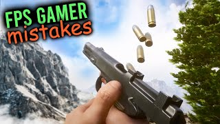 10 MISTAKES Every FPS Gamer Makes