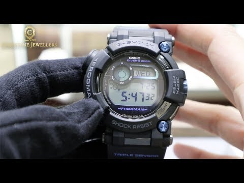 G-SHOCK FROGMAN GWF-D1000 WITH DEPTH GAUGE AND COMPASS