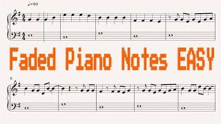 the faded piano notes - ฟรีวิดีโอออนไลน์ - ดูทีวีออนไลน์ - คลิป