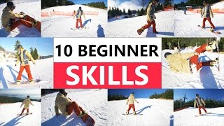 #6 Snowboard begginer – First day riding