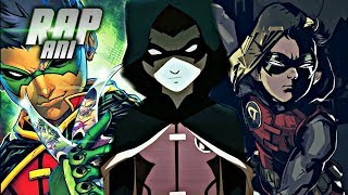 Rap Do Robin 『 Damian Wayne 』 |O Herdeiro Do Morcego| AniRap