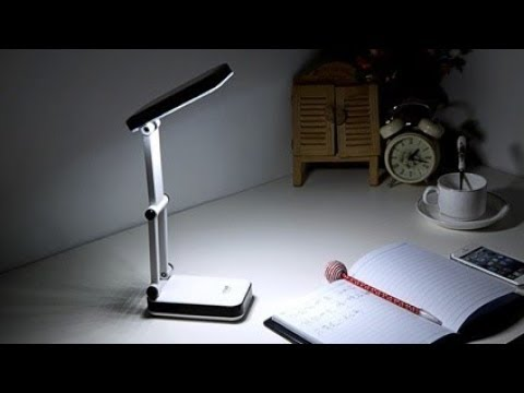 DP Portable Rechargeable LED Emergency Light / Study Lamp – Unboxing/Review