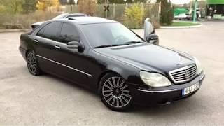 Mercedes Benz W220 за 3500€ из Литвы