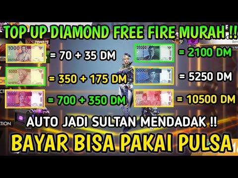 TERNYATA DI SINI !! TEMPAT TOP UP DIAMOND FREE FIRE MURAH! DAPAT DISKON BERLIMPAH AUTO JADI SULTAN