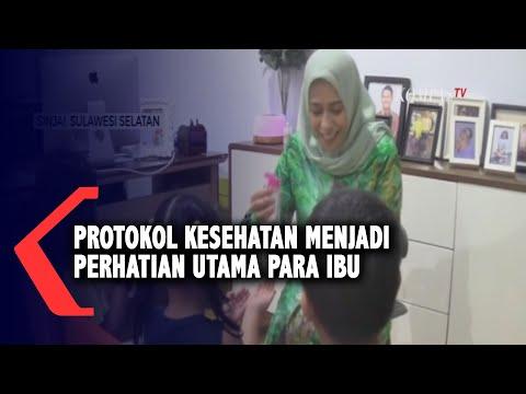 protokol kesehatan menjadi perhatian utama para ibu