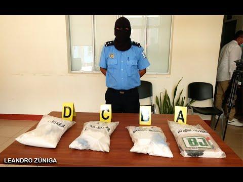 Policía Nacional incauta 4 kilos de cocaína en el Distrito VIII de Tipitapa