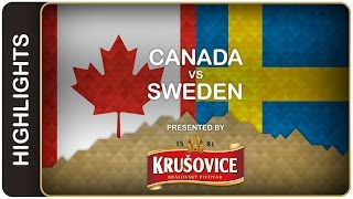 Canada dominates Sweden | Canada-Sweden HL | #IIHFWorlds 2016