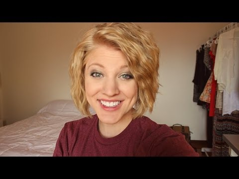 How to | Short Wavy/Crimped Hair
