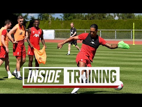 Inside Training: Behind-the-scenes from Liverpool's shooting practice in Evian