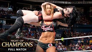 FULL MATCH - Paige vs. Nikki Bella vs. AJ Lee – WWE Divas Title Match: WWE Night of Champions 2014