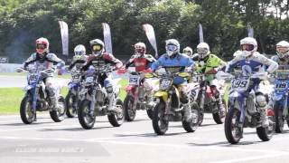 preview picture of video 'SuperMoto Series 2014 Video Race Report S1 AMA Round #4 - Viterbo'