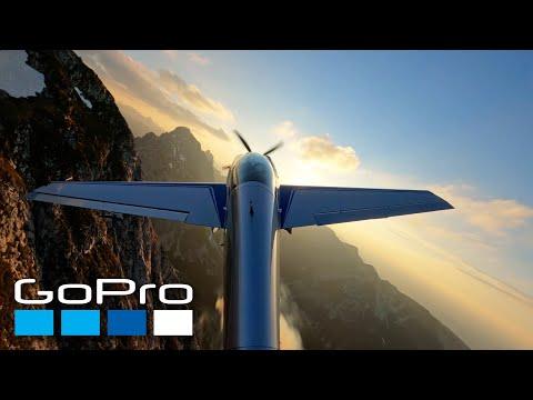 Aerobatics Over the Austrian Alps
