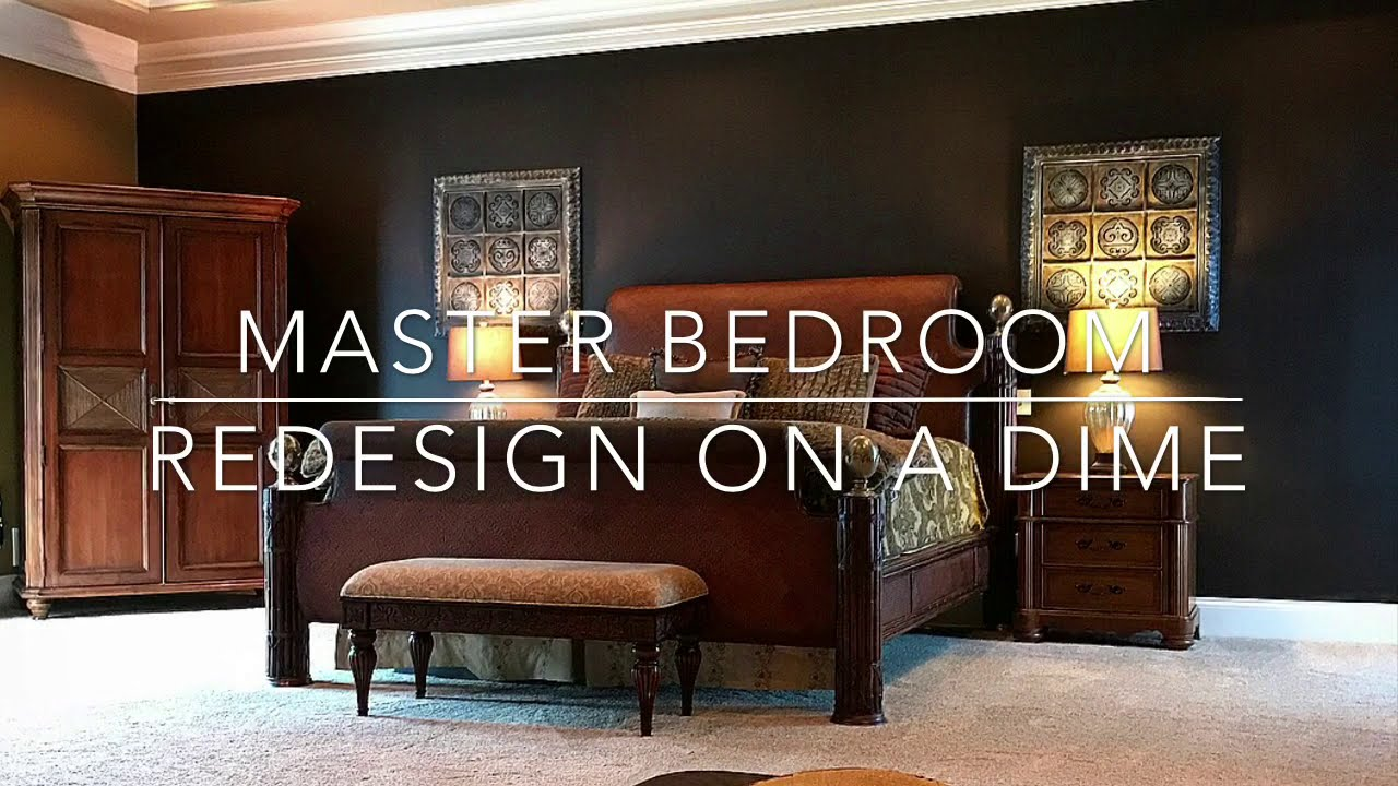 Master Bedroom Redesign on a Dime, and Quick tips to spruce up your decor!