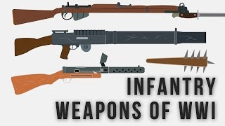 Infantry Weapons Of WWI