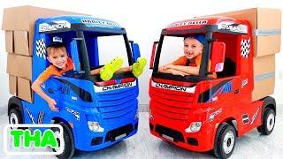 เรื่องตลกวลาดและนิกิตะกับรถยนต์   วิดีโอคอลเลกชันสำหรับเด็ก