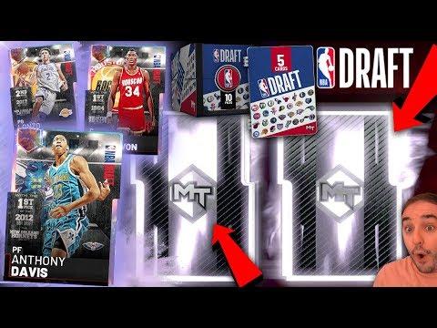 NBA 2K19 My Team GALAXY OPAL NBA DRAFT PACKS! WOW I CANT BELIEVE THIS HAPPENED!!!