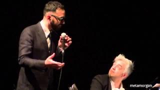 Morgan e Fabio Cinti - Un Vecchio Cameriere (e imitazione Battiato)16.3.15