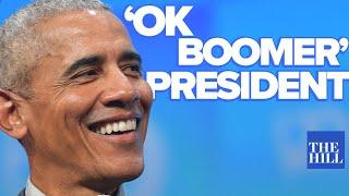 Jacob Bacharach: Why President Obama Is The 'OK Boomer' President