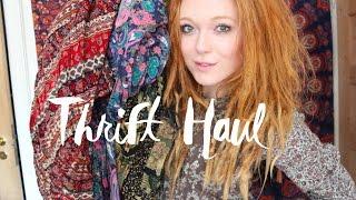 Hippie Thrift Try On Haul 🌜