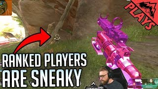 Ranked Players are SNEAKY! - Apex Legends