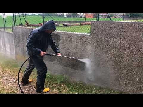 Idro Pulizia Muro Cemento