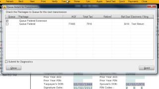 How to Add Form 4868 - CrossLink Professional Tax Software