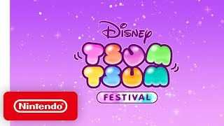 Disney TSUM TSUM FESTIVAL - Launch Trailer - Nintendo Switch