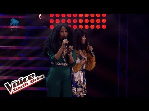 Aura – 'All By Myself' | Live Shows | The Voice SA | M-Net