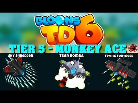 Bloons Tower Defense 6 - Monkey Ace Only Challenge