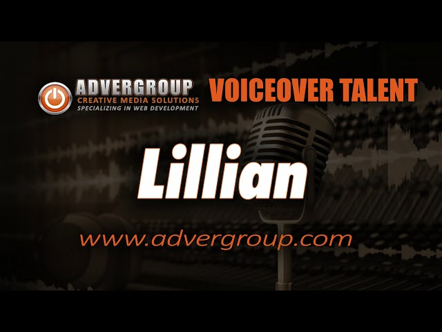 LILLIAN Female VOICE ..