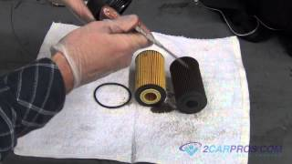 Engine Oil Change and Filter Chevrolet Cruze