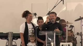 Culto da Nova Geração (manhã) - louvor das crianças